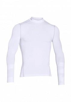 Лонгслив спортивный, Under Armour, цвет: белый. Артикул: UN001EMOJH94. Одежда