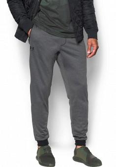 Брюки спортивные, Under Armour, цвет: серый. Артикул: UN001EMXRR35. Одежда / Брюки / Спортивные брюки