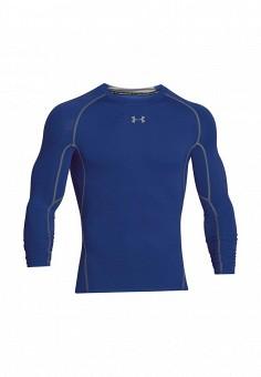 Лонгслив компрессионный, Under Armour, цвет: синий. Артикул: UN001EMXRR58. Одежда / Термобелье