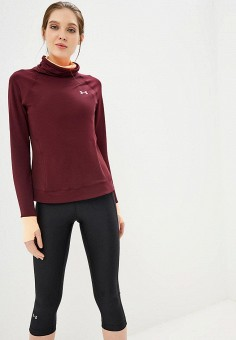 Водолазка, Under Armour, цвет: бордовый. Артикул: UN001EWBVDS2. Одежда / Джемперы, свитеры и кардиганы / Водолазки