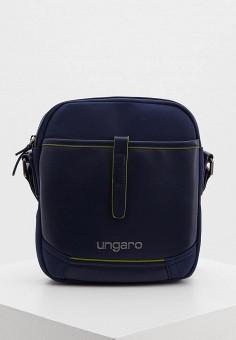 Сумка, Ungaro, цвет: синий. Артикул: UN005BMIGLE3. Аксессуары