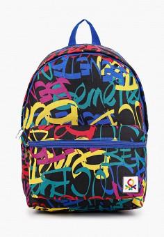 Рюкзак, United Colors of Benetton, цвет: черный. Артикул: UN012BBJZFU8. Мальчикам / Аксессуары