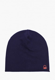 Шапка, United Colors of Benetton, цвет: синий. Артикул: UN012CBJZFV3.