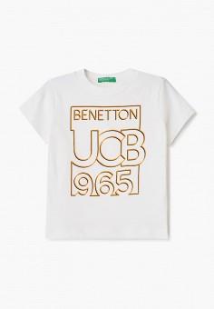 Футболка, United Colors of Benetton, цвет: белый. Артикул: UN012EBHYCM1.