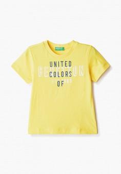 Футболка, United Colors of Benetton, цвет: желтый. Артикул: UN012EBHYCP9.