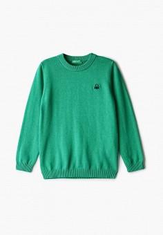 Джемпер, United Colors of Benetton, цвет: зеленый. Артикул: UN012EBJZJI3.