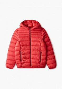 Куртка утепленная, United Colors of Benetton, цвет: красный. Артикул: UN012EBJZJJ9.