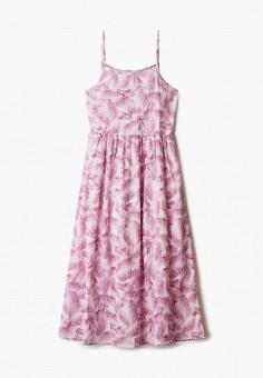 Сарафан, United Colors of Benetton, цвет: розовый. Артикул: UN012EGHXYZ6.