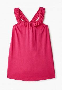 Платье, United Colors of Benetton, цвет: розовый. Артикул: UN012EGHYAE8. Девочкам / Одежда / Платья и сарафаны