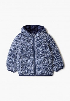 Куртка утепленная, United Colors of Benetton, цвет: синий. Артикул: UN012EGHYDB2.