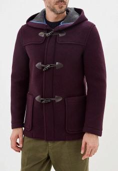 Полупальто, United Colors of Benetton, цвет: бордовый. Артикул: UN012EMFUVW2. Одежда / Верхняя одежда / Пальто
