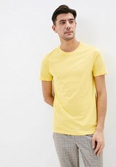 Футболка, United Colors of Benetton, цвет: желтый. Артикул: UN012EMHXAP2.