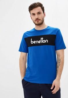 Футболка, United Colors of Benetton, цвет: синий. Артикул: UN012EMHXAW9.