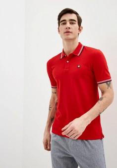 Поло, United Colors of Benetton, цвет: красный. Артикул: UN012EMHXBA0.