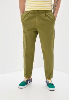 Брюки, United Colors of Benetton, цвет: хаки. Артикул: UN012EMHXBB3.