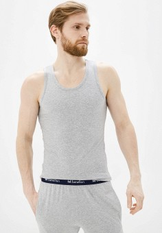 Майка, United Colors of Benetton, цвет: серый. Артикул: UN012EMHXBF7. Одежда / Нижнее белье