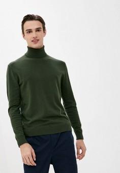 Водолазка, United Colors of Benetton, цвет: зеленый. Артикул: UN012EMJZHW7.