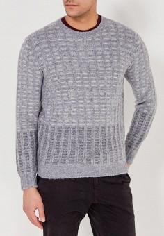 Джемпер, United Colors of Benetton, цвет: серый. Артикул: UN012EMZFP50. Одежда / Джемперы, свитеры и кардиганы / Джемперы и пуловеры