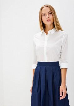 Рубашка, United Colors of Benetton, цвет: белый. Артикул: UN012EWBYJQ5. Одежда / Блузы и рубашки / Рубашки