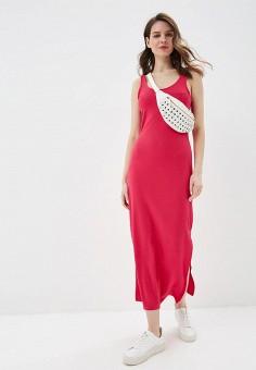 Платье, United Colors of Benetton, цвет: розовый. Артикул: UN012EWDXNZ7.