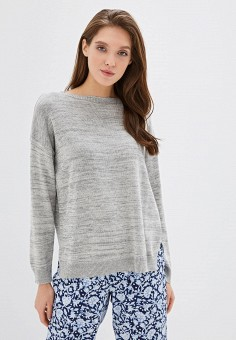 Джемпер домашний, United Colors of Benetton, цвет: серый. Артикул: UN012EWFUXY9. Одежда / Домашняя одежда