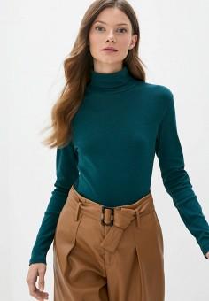 Водолазка, United Colors of Benetton, цвет: зеленый. Артикул: UN012EWJZDF0. Одежда / Джемперы, свитеры и кардиганы / Водолазки