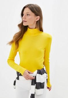 Водолазка, United Colors of Benetton, цвет: желтый. Артикул: UN012EWJZDF3. Одежда / Джемперы, свитеры и кардиганы / Водолазки
