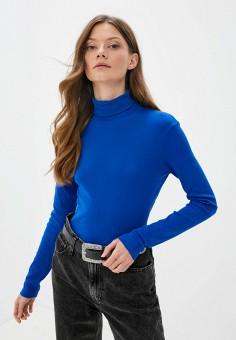 Водолазка, United Colors of Benetton, цвет: синий. Артикул: UN012EWJZDF7. Одежда / Джемперы, свитеры и кардиганы / Водолазки
