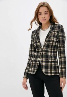 Пиджак, United Colors of Benetton, цвет: коричневый. Артикул: UN012EWJZEN1. Одежда / Пиджаки и костюмы