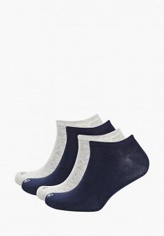 Комплект, United Colors of Benetton, цвет: серый, синий. Артикул: UN012FUDXDV6.