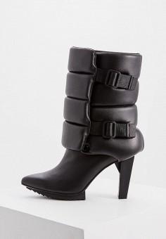 Полусапоги, United Nude, цвет: черный. Артикул: UN175AWFPGV5. Обувь / Сапоги / Полусапоги