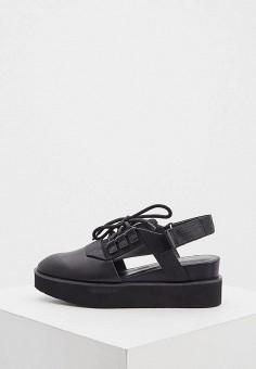 Ботинки, United Nude, цвет: черный. Артикул: UN175AWHMFI4. Обувь / Ботинки / Низкие ботинки