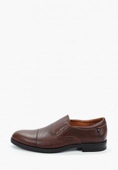 Лоферы, Valser, цвет: коричневый. Артикул: VA018AMIWSL1. Обувь / Туфли
