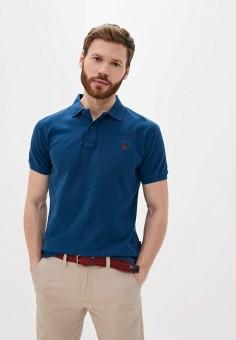 Поло, Van Hipster, цвет: синий. Артикул: VA021EMJHZK8. Одежда / Футболки и поло / Поло