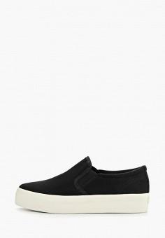 Слипоны, Vagabond, цвет: черный. Артикул: VA468AWEFUS3. Обувь / Слипоны