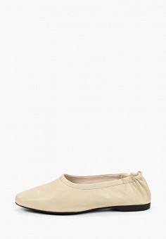 Балетки, Vagabond, цвет: бежевый. Артикул: VA468AWEFUT1. Обувь / Балетки
