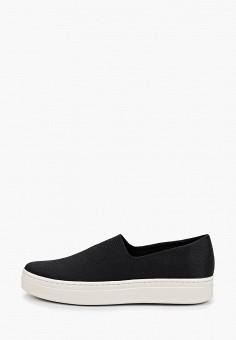 Слипоны, Vagabond, цвет: черный. Артикул: VA468AWEFVA7. Обувь / Слипоны