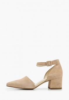 Туфли, Vagabond, цвет: бежевый. Артикул: VA468AWIAKC5.