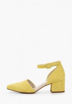 Туфли, Vagabond, цвет: желтый. Артикул: VA468AWIAKC6.