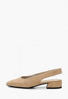 Туфли, Vagabond, цвет: бежевый. Артикул: VA468AWIAKD6.