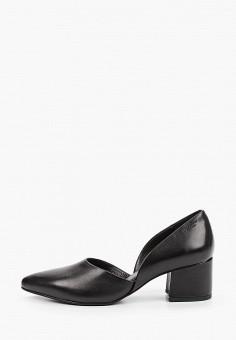 Туфли, Vagabond, цвет: черный. Артикул: VA468AWIAKJ6. Обувь / Туфли