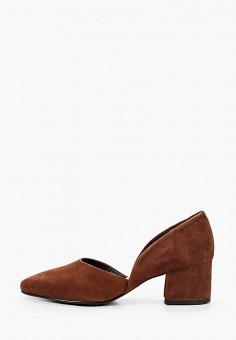 Туфли, Vagabond, цвет: коричневый. Артикул: VA468AWIAKJ8. Обувь / Туфли