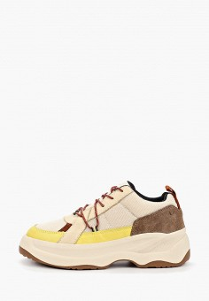 Кроссовки, Vagabond, цвет: бежевый. Артикул: VA468AWIAKL1.