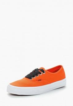 Кеды, Vans, цвет: оранжевый. Артикул: VA984AUAJYK9.