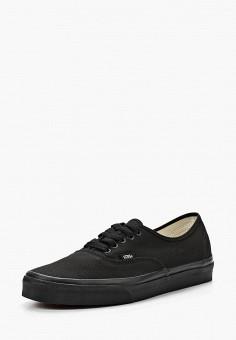 Кеды, Vans, цвет: черный. Артикул: VA984AUAVZ68. Обувь / Кроссовки и кеды