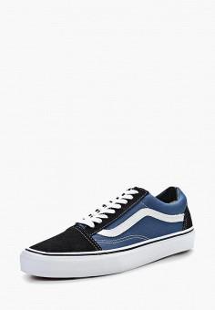 Кеды, Vans, цвет: синий. Артикул: VA984AUAVZ95. Обувь / Кроссовки и кеды