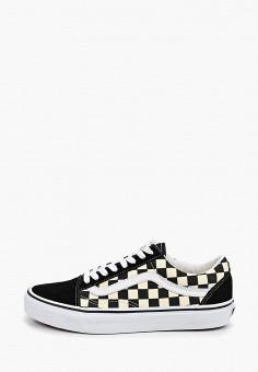 Кеды, Vans, цвет: черный. Артикул: VA984AUEEVK2.