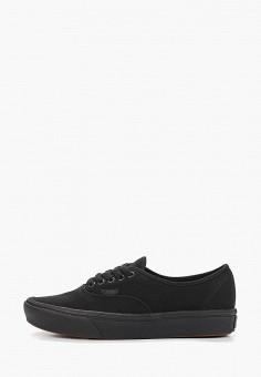 Кеды, Vans, цвет: черный. Артикул: VA984AUEEVN7.