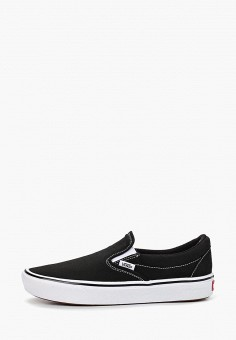 Слипоны, Vans, цвет: черный. Артикул: VA984AUEEWB2.