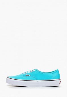 Кеды, Vans, цвет: голубой. Артикул: VA984AUEEWB6.